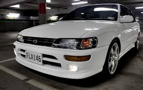 1996 toyota corolla front bumper boosted cordia 1993 toyota corolla specs photos modification