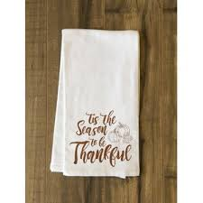 thanksgiving kitchen towels you ll wayfair