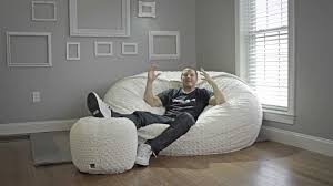 Oversized Bag Chairs Lovesac All About Sacs Youtube