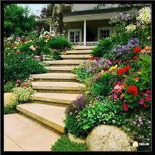 Sloped Front Yard Landscaping Ideas - sloped backyard landscaping ideas outdoor living ideas