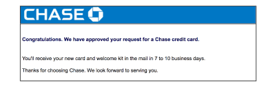how to check your chase credit card application status the