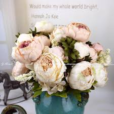 artificial peonies decorating with flowers picture more detailed picture about
