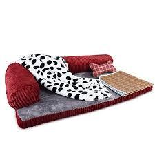 Dog Sofa Blanket Petacc Dog Bed Detachable Dog Sofa Pet Crate Pad Blanket Pillow