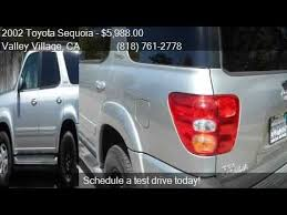 2002 toyota sequoia limited for sale 2002 toyota sequoia limited 2wd 4dr suv for sale in valley v