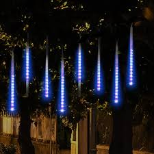 amazon com topist falling rain christmas lights waterproof led