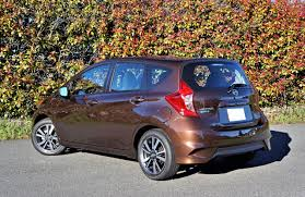 nissan versa note 2017 nissan versa note sl the car magazine