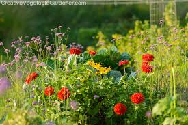 Creative Vegetable Gardens by Creative Vegetable Gardener 4 Ways To Add Beauty To Your Vegetable