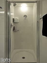 Shower Stall With Door Small Frameless Mirror Shower Stall Glass Doors Regarding Stalls