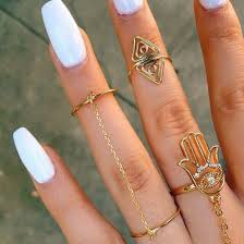 hand jewelry rings images Jewels jewelry ring gold ring knuckle ring gold midi rings jpg