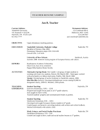 Entry Level Resume Template Entry Level Teaching Resume Cbshow Co