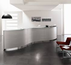 Rounded Reception Desk by Luna Modular Reception Desks Sinetica Reception Counters Apres