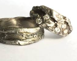 modern wedding rings modern wedding ring etsy