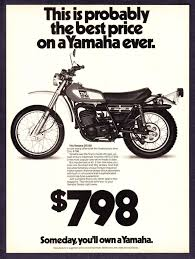 1976 yamaha dt 250 dt250 enduro motorcycle photo