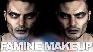 Werewolf Halloween Makeup by Four Horsemen Famine Alex Faction Youtube