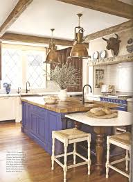 Pictures Of French Country Kitchens - french country kitchen island breathingdeeply