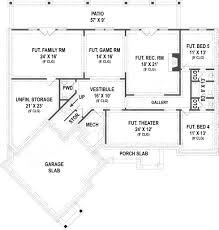 House Floor Plans With Basement Clarita Ranch House Plans Open Home Floor Plans