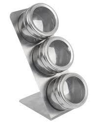 portaspezie magnetico equinox 508939 portaspezie magnetico 6 5 cm set da 3 pezzi ebay