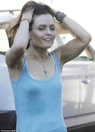 Seeking Imdb Stain Danica Mckellar Shows Sweat Stain After Gruelling Dwts Rehearsals