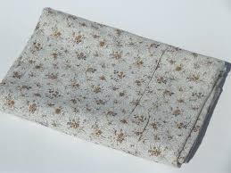 Light Cotton Fabric Antique Vintage Cotton Challis Floral Print Fabric Fine Light Cotton