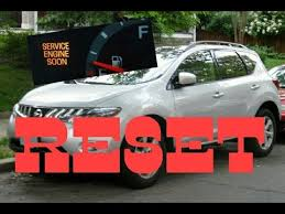 service engine soon light nissan sentra how to reset service engine soon light on a 2009 nissan murano