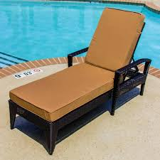 Chaise Lounge With Arms Chaise Living Sun Bed Double Chaise Lounge With Cushion Woven