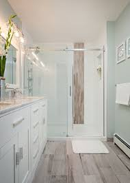 tile floor bathroom ideas wood floor bathroom simple home design ideas academiaeb com