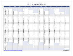 printable calendar year on one page printable annual calendar gidiye redformapolitica co