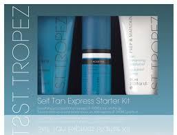 st tropez self tan express starter kit amazon co uk beauty