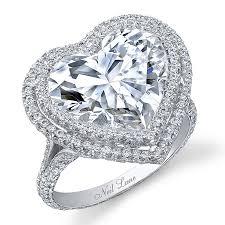 heart shaped engagement ring large heart shaped diamond rings wedding promise diamond