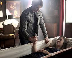 the vampire diaries u0027 enzo snags a new love interest but will damon