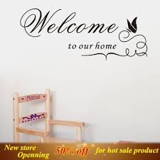 home office decoration wall sticker welcome to your home decor home office decoration wall sticker welcome to your home decor blossom flower wall stickers mirror decorative wall decal art