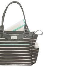 Carter S Convertible Crib by Carter U0027s Convertible Tote Diaper Bag Grey U0026 White Stripe