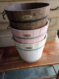 china colorful round large half whiskey barrel garden outdoors