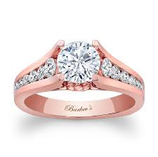 pink gold engagement rings barkev s gold engagement ring 7940lp barkev s
