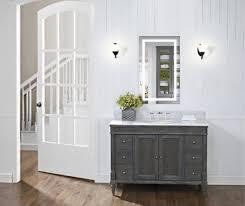 led vanity mirror 18 u2033x30 u2033 bathroom lighted mirror with dimmer