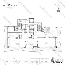 chateau floor plans fendi chateau residences unit 706 condo for sale in surfside