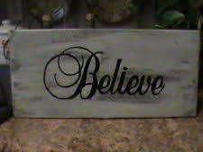 believe home decor believe rustic primitive home décor plaques signs ebay