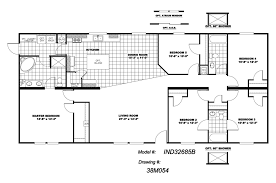 floor plans for 5 bedroom homes fascinating 5 bedroom mobile home floor plans collection also homes