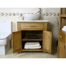 Wooden Vanity Units For Bathrooms Exclusive Idea Solid Oak Bathroom Vanity Unit For Wood Crafty