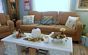 fall coffee table decor ideas best decoration design fashion