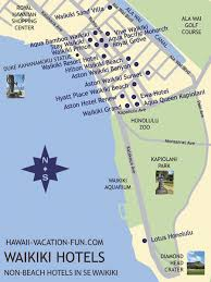 map of waikiki non waikiki hotels deals details near