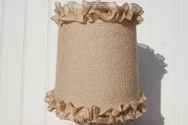 Burlap Ruffle Curtain Burlap Lamp Shades Ceiling Med Art Home Design Posters