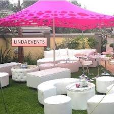 Pink Cocktails For Baby Shower - stretch tent baby shower couches cocktail chairs cocktail table