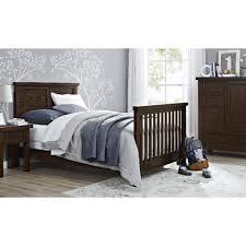 Walnut Nursery Furniture Sets by Bertini Timber Lake 4 In 1 Convertible Crib Dark Walnut Babies