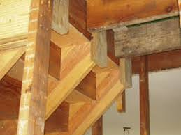 stair stringer brackets house exterior and interior stair