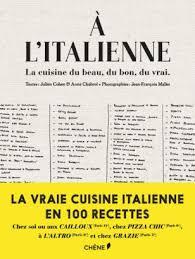 livre cuisine italienne cuisine italienne le livre qu il nous faut