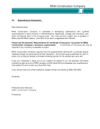 Sample Cover Letter Introduction Cover Letter For Construction Company Image Collections Cover