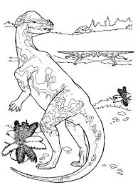 pachycephalosaurus cretaceous period dinosaur coloring free