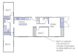 plan view standard designs iq container homes