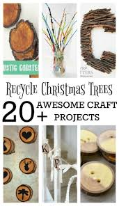 recycling christmas trees 20 awesome craft projects decor